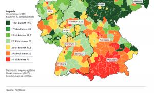 Grafik Immobilienmarkt in Deutschland