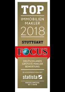 Top Immobilienmakler Stuttgart 2018, FOCUS