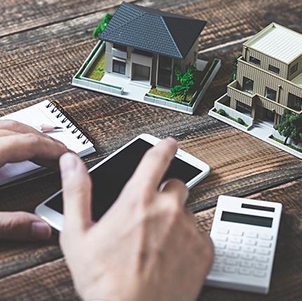 Haus Planung und Kalkulierung