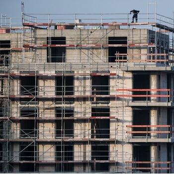 Bauindustrie rechnet mit 300.000 neuen Wohnungen im laufenden Jahr